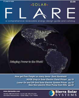 Sierra Solar Online Catalog